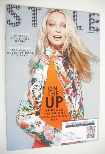 <!--2014-01-12-->Style magazine - On The Up cover (12 January 2014)
