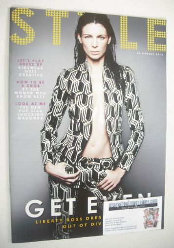 <!--2014-08-24-->Style magazine - Liberty Ross cover (24 August 2014)