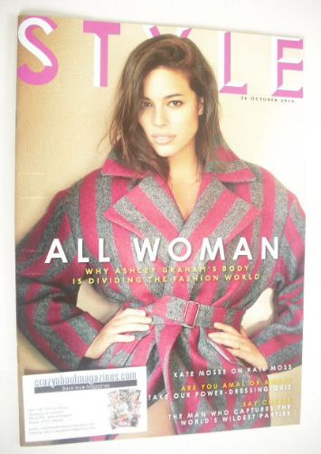 <!--2014-10-26-->Style magazine - Ashley Graham cover (26 October 2014)