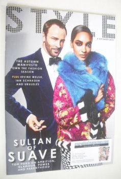 Style magazine - Tom Ford and Jourdan Dunn cover (8 September 2013)