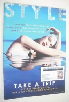 Style magazine - Take A Trip cover (29 December 2013)