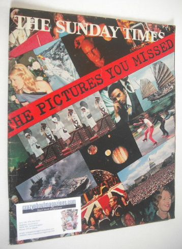 <!--1979-12-->The Sunday Times magazine - The Pictures You Missed cover (19