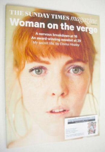 <!--2015-02-01-->The Sunday Times magazine - Emma Healey cover (1 February
