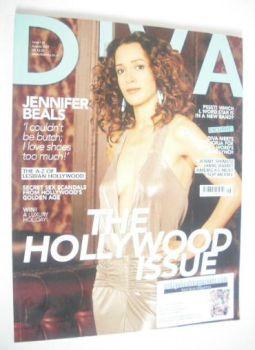 Diva magazine - Jennifer Beals cover (August 2007 - Issue 135)
