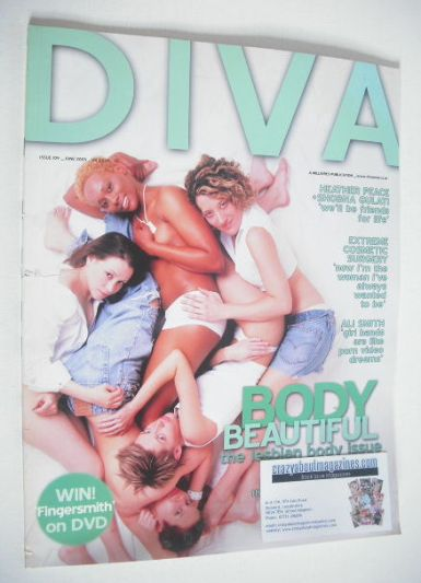 <!--2005-06-->Diva magazine - Body Beautiful issue (June 2005 - Issue 109)