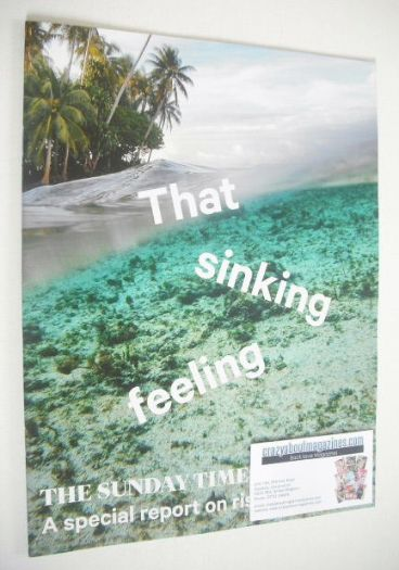 <!--2015-01-04-->The Sunday Times magazine - That Sinking Feeling cover (4