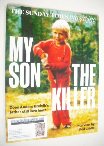 <!--2015-01-25-->The Sunday Times magazine - My Son The Killer cover (25 Ja