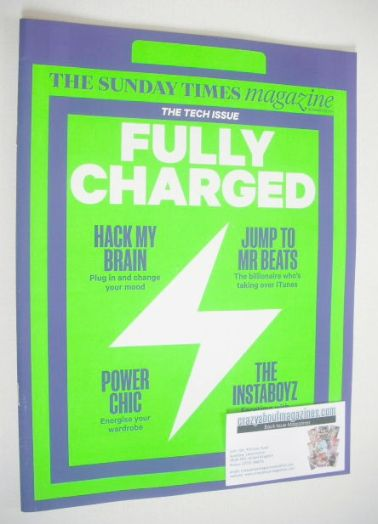 <!--2014-11-30-->The Sunday Times magazine - Fully Charged cover (30 Novemb
