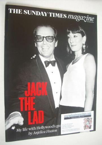 <!--2014-11-16-->The Sunday Times magazine - Jack Nicholson and Anjelica Hu