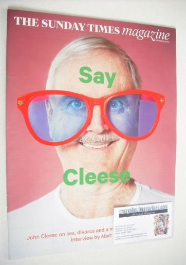 <!--2014-09-28-->The Sunday Times magazine - John Cleese cover (28 Septembe
