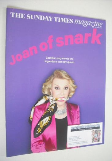 <!--2014-09-07-->The Sunday Times magazine - Joan Rivers cover (7 September