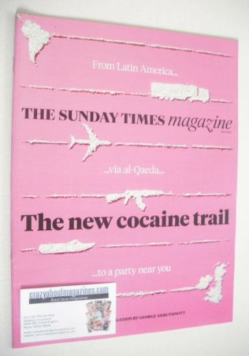 <!--2014-07-06-->The Sunday Times magazine - The New Cocaine Trail cover (6