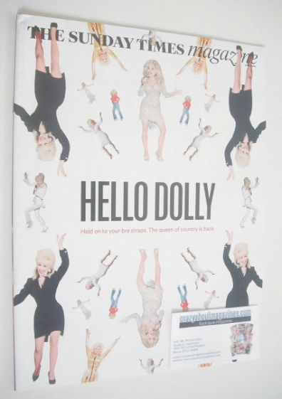 <!--2014-06-08-->The Sunday Times magazine - Dolly Parton cover (8 June 201