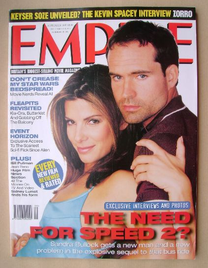 <!--1997-09-->Empire magazine - Sandra Bullock and Jason Patric cover (Sept