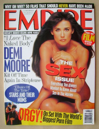 <!--1996-10-->Empire magazine - Demi Moore cover (October 1996 - Issue 88)