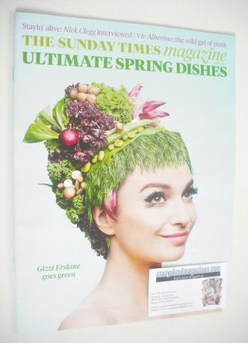 <!--2014-04-27-->The Sunday Times magazine - Gizzi Erskine cover (27 April