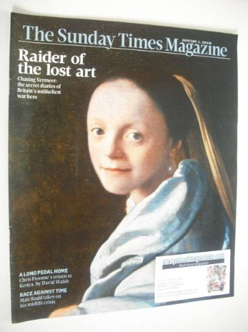 <!--2014-01-05-->The Sunday Times magazine - Raider Of The Lost Art cover (