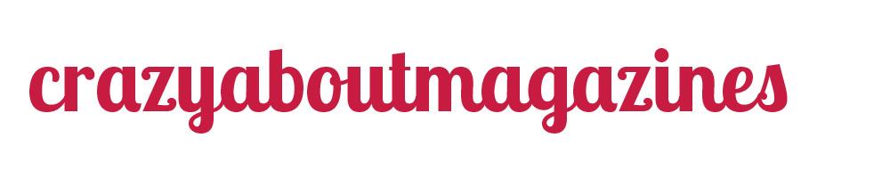 crazyaboutmagazines, site logo.