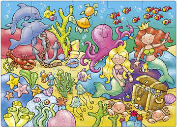 Who's Under The Sea? Jigsaw Puzzle