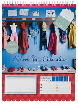 School Year' Family Calendar 2010