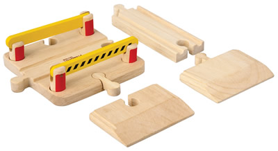 Wooden Railway - Crossing