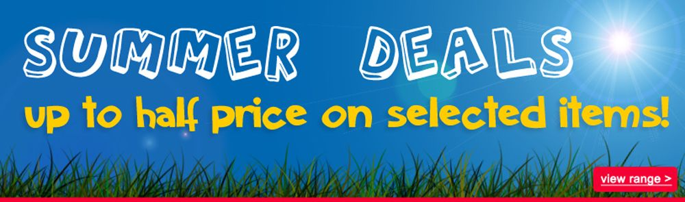 Summer Deals - Up To Half Price on Selected Items