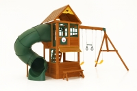 Forest Ridge Children's Playhouse Swing Set