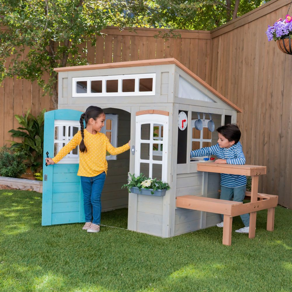 Preston Wooden Outdoor Playhouse