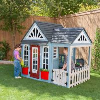 Timber Trail Kids Outdoor Cottage Playhouse