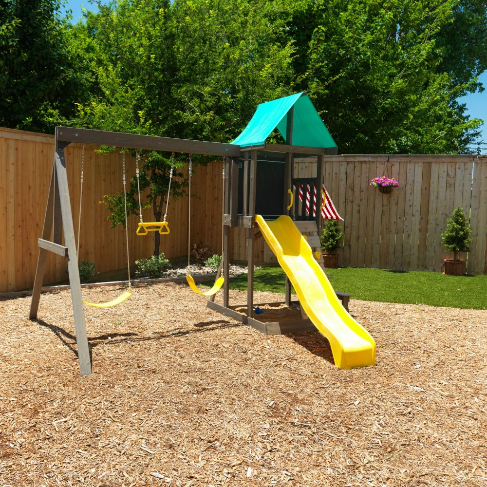 Newport Wooden Swing Set / Playset