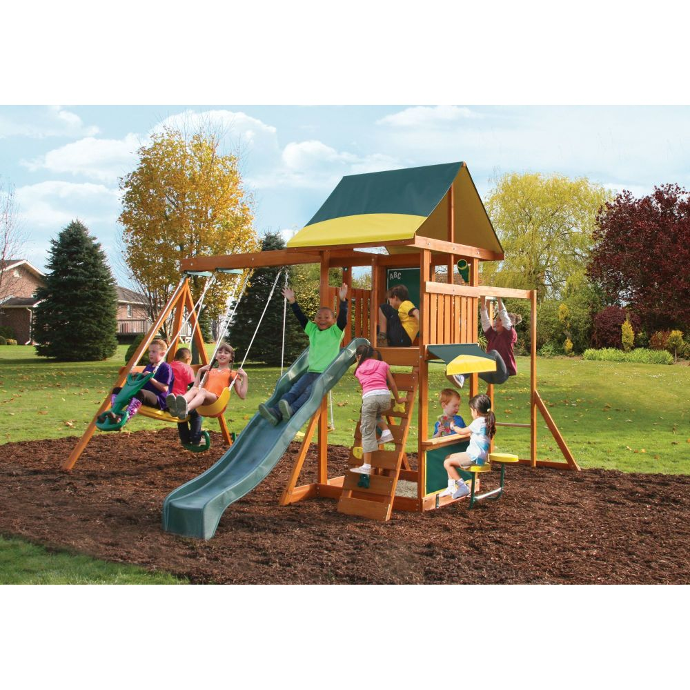 Brookridge Climbing Frame Outdoor Wooden Play Center
