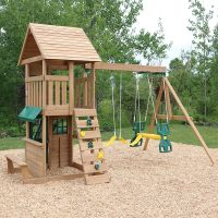 Windale Wooden Outdoor Kids Climbing Frame