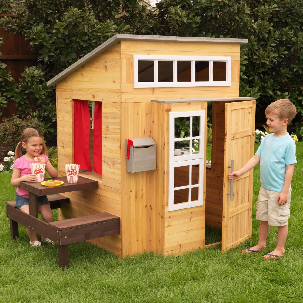 Modern Outdoor Picnic Playhouse