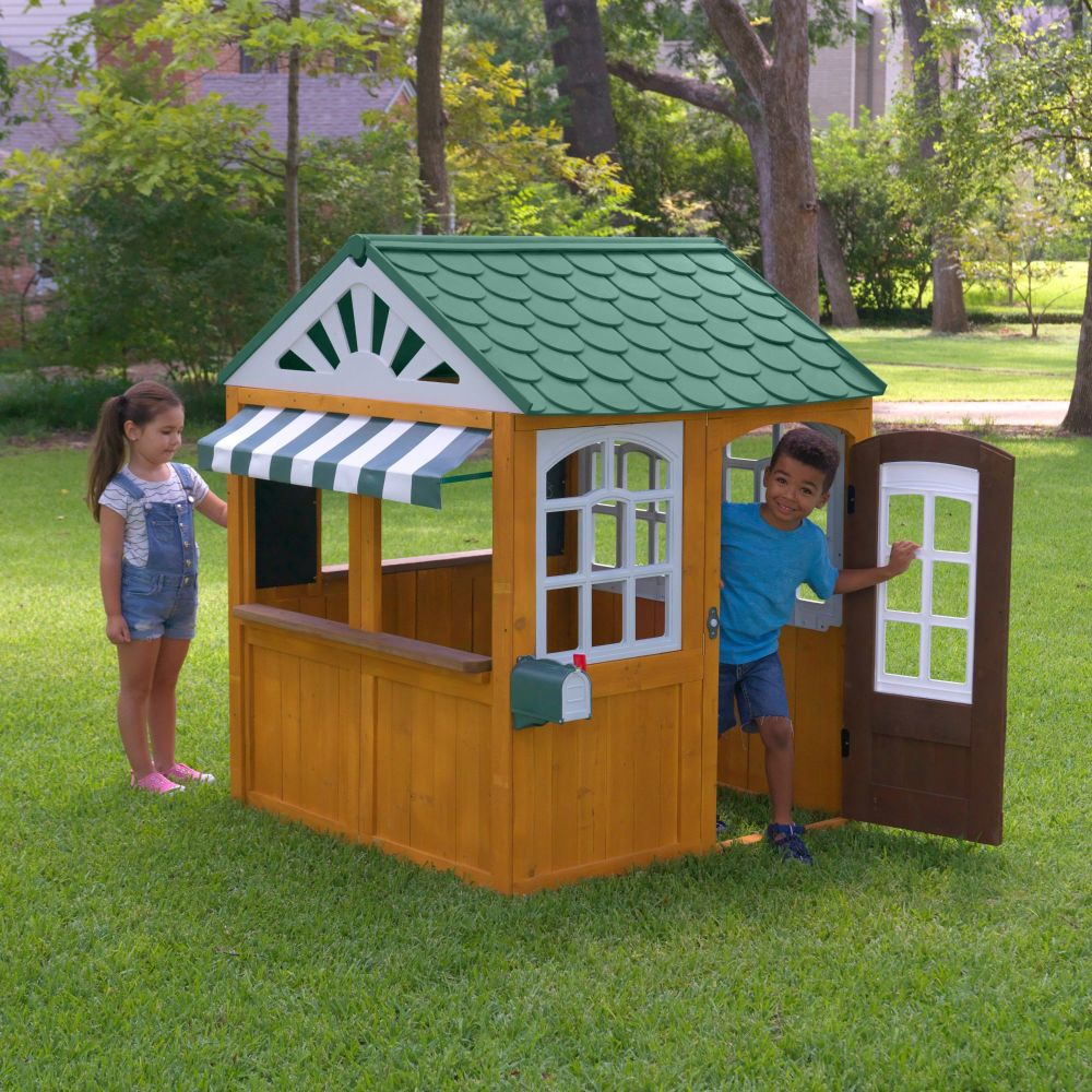 Garden View Outdoor Wooden Playhouse (FSC)