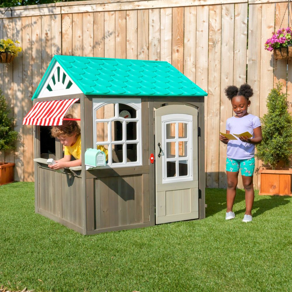 Coastal Cottage  Outdoor Playhouse (FSC)