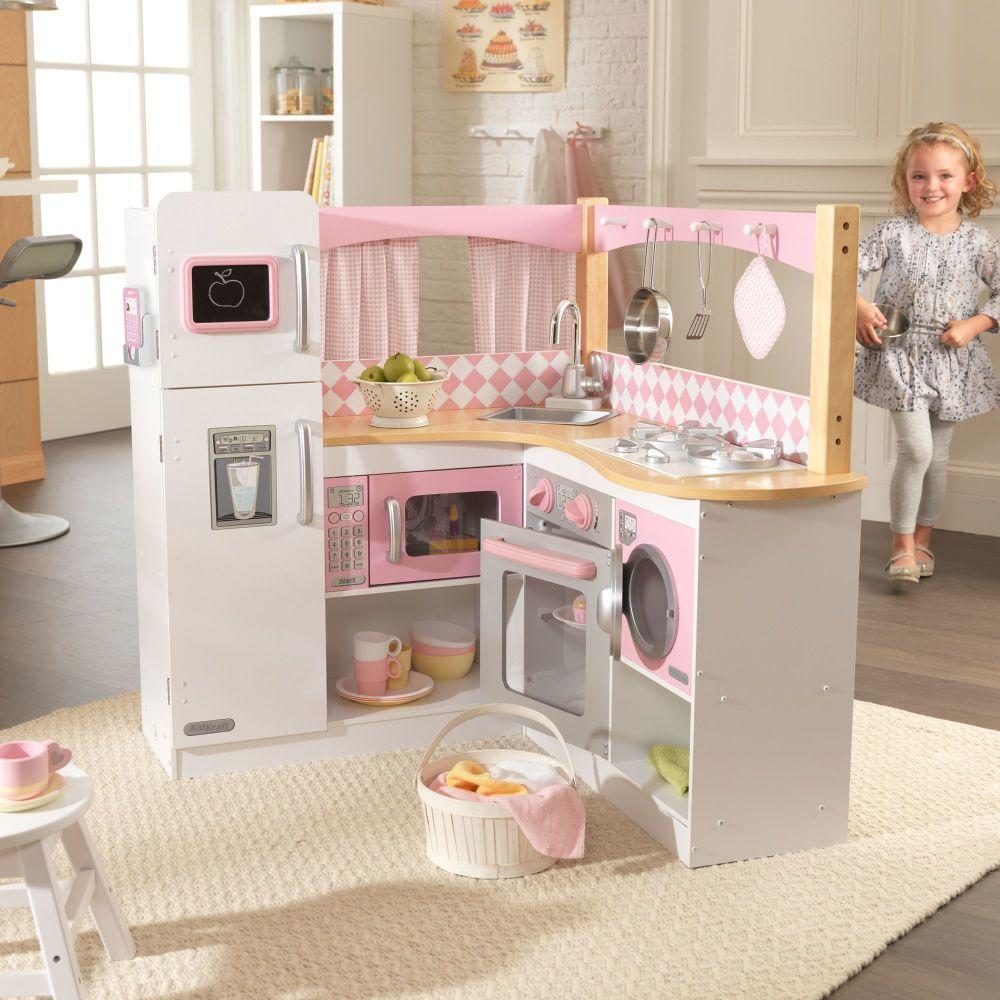 Grand Gourmet Corner Kitchen Play Set