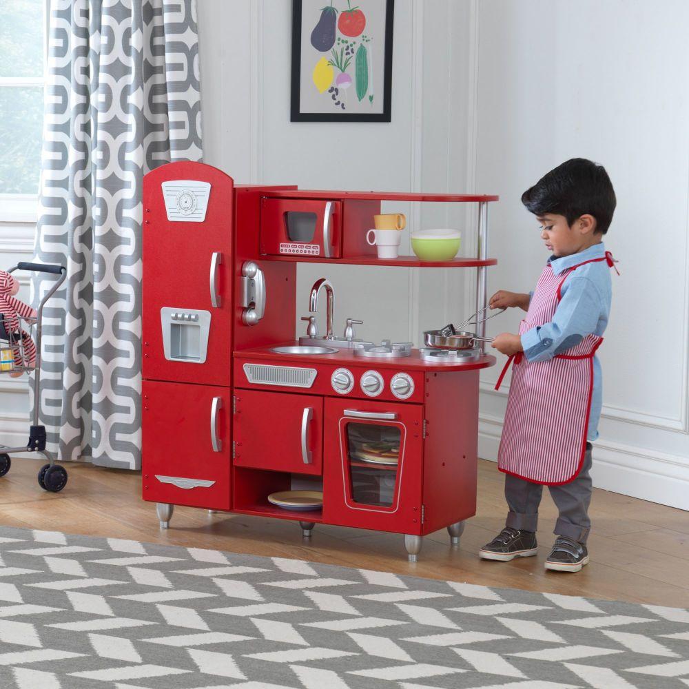Vintage Red Play Kitchen