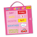 Magnetic My Calendar - Pink