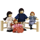 Wooden Doll Family - 'The Brambles'