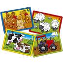 Farm Four In A Box Jigsaw Puzzle