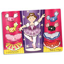 Ballerina Dress Up Wooden Peg Puzzle