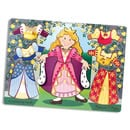 Princess Dress Up Wooden Peg Puzzle