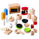 Doll's House Kitchen Accessories Set