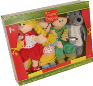 Tellatale Red Riding Hood Puppet Set