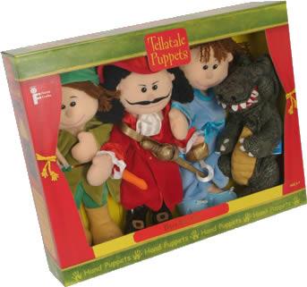 Tellatale Peter Pan Puppet Set