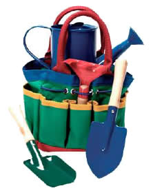 Children's Garden Tote & Tools