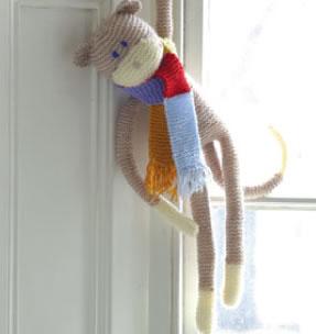 Monkey Knitting Kit