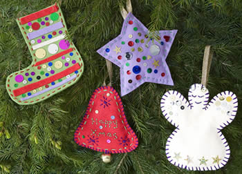 Christmas Tree Decoration Sewing Kit
