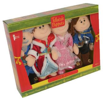 Tellatale Sleeping Beauty Puppet Set