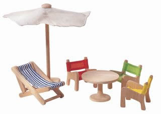 Doll's House Patio Furniture